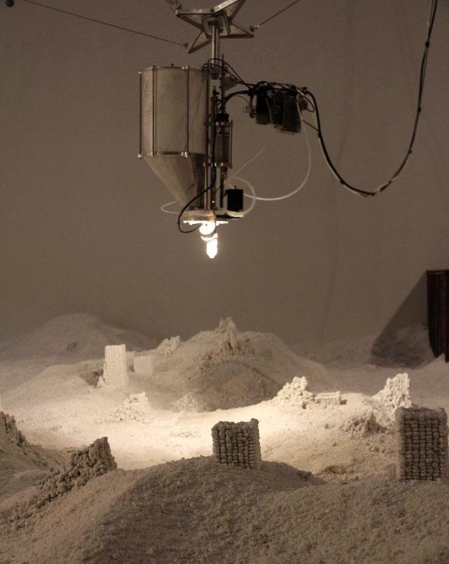 Jonathan Schipper Art Installation Detritus hot tub