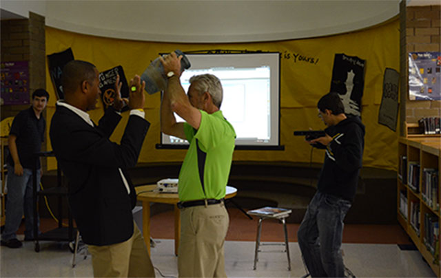Kinect scanning by Richmond County schools North Carolina Conservation