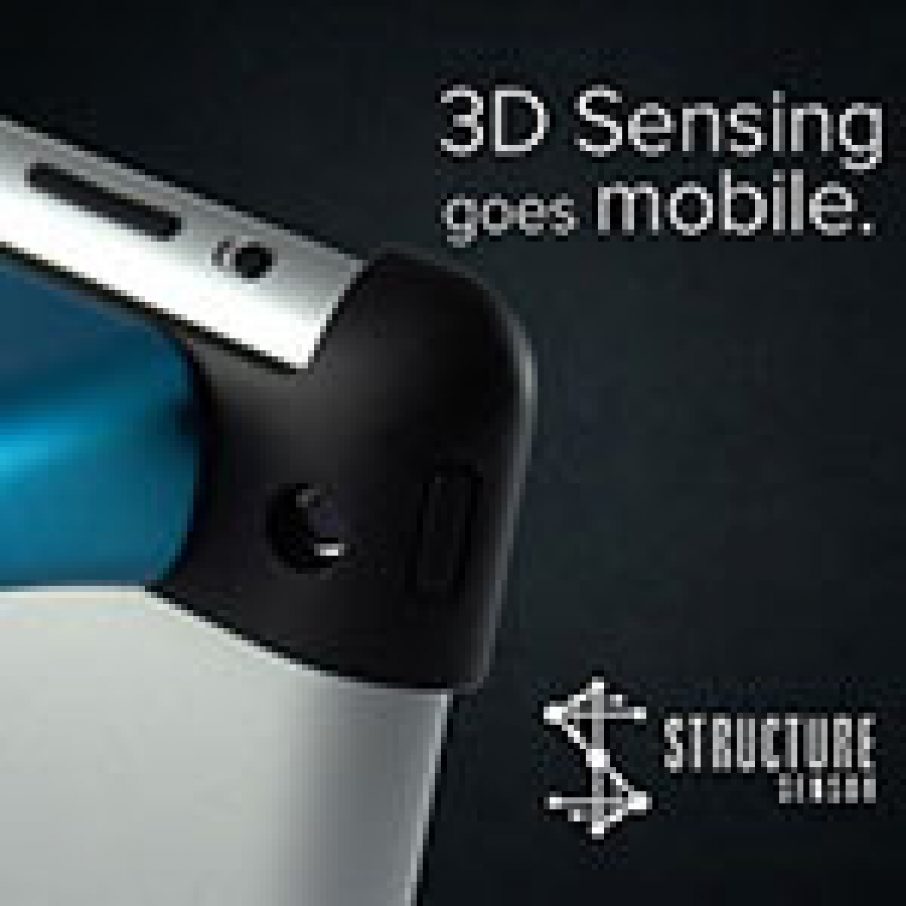 Structure Sensor 3D Scanner iPad