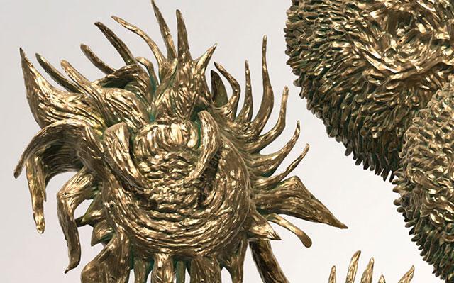 Van Gogh 3D Printed Sculpture