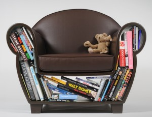 bookshelf chair 4axyz