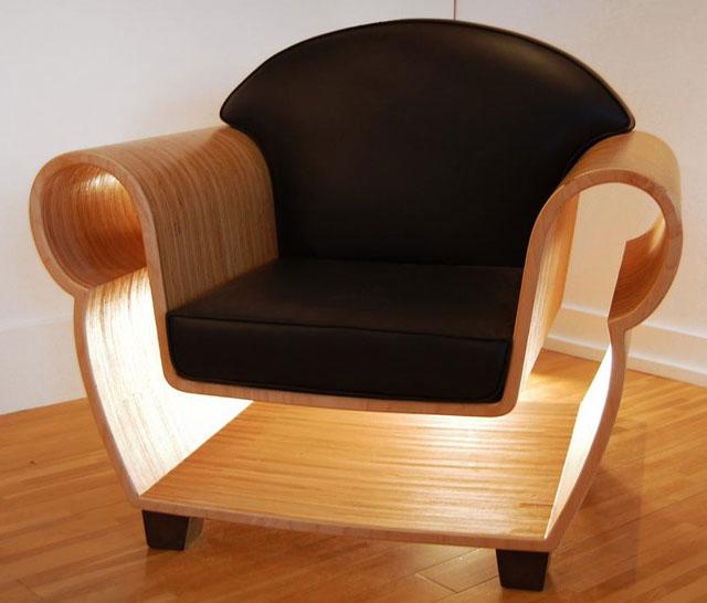 clear chair 4axyz 3D Printing