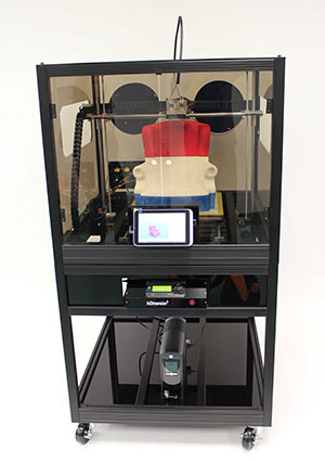 glacier summit 3D Printer by InDimension3