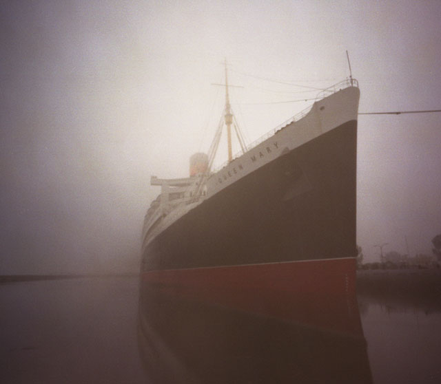 queen mary pinhole camera photo