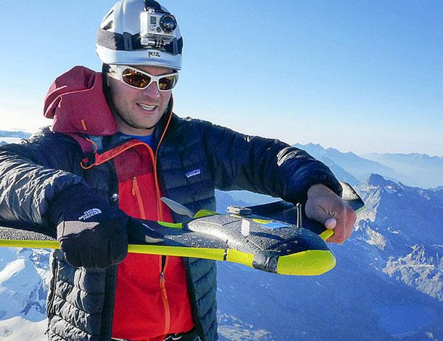 sensefly 3D modelling drone