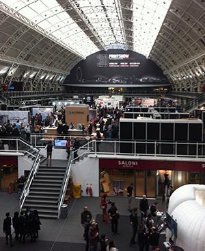 3 floored venue The Business Design Centre 3D Printshow London