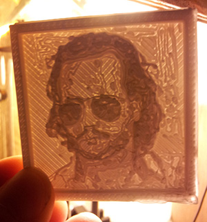 3Distributed 3D Printed Lithophane Service