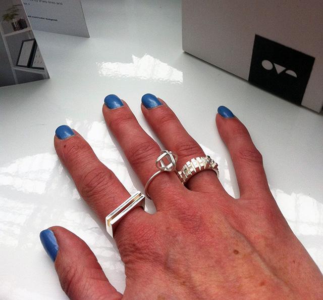 Stilnest Rings 3D Printed