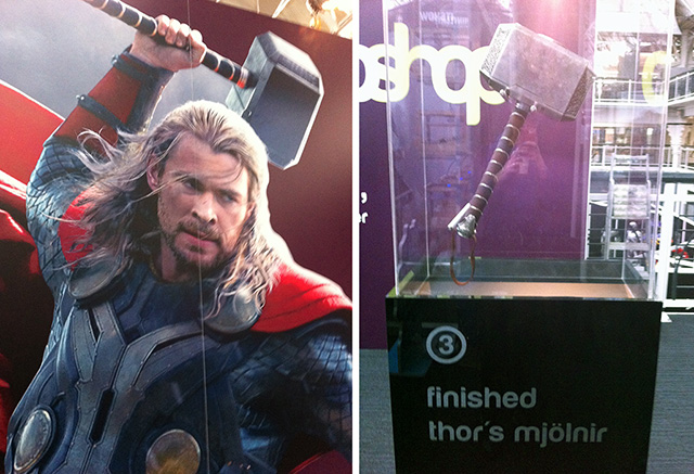 Thor & his hammer