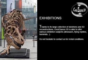 Tyrannosaurus Rex CreaZaurus3D