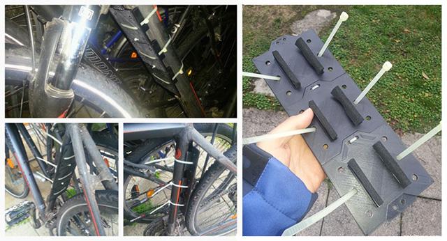 Bike Shield 3D Printed