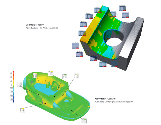diagram Geomagic 3D Scanner