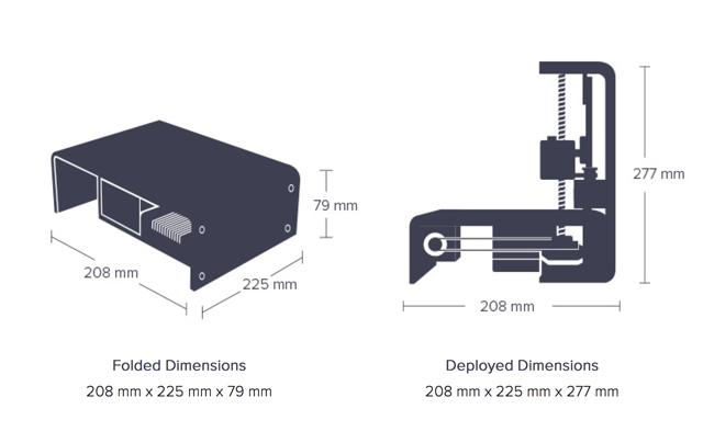 foldable 3D Printer Portabee