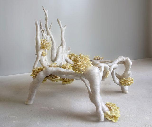 Mycelium Chair Erik Klarenbeek