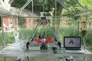 Printing Mycelium Chair Erik Klarenbeek