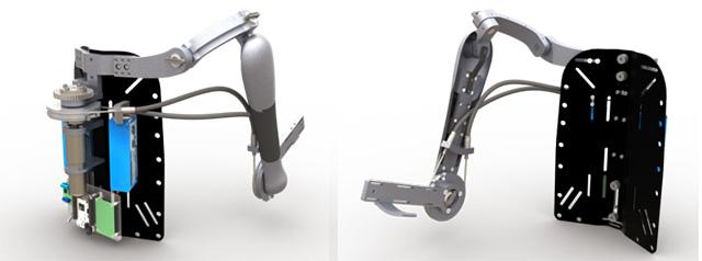 Titan Arm 3D Printed