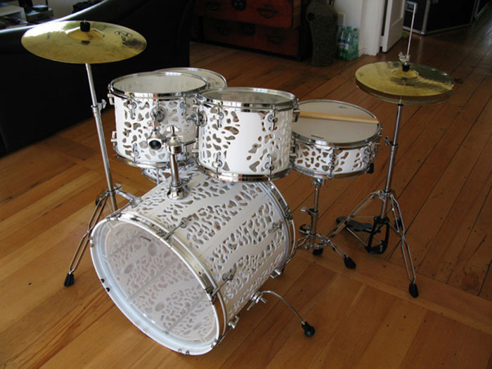 3D printed drum set