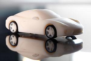 3D Printed Cayman Porsche