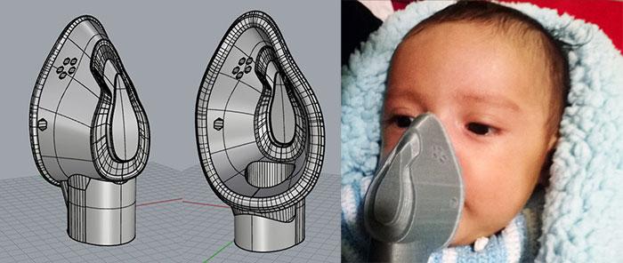 Baby Mask 3D Design Luis Jr