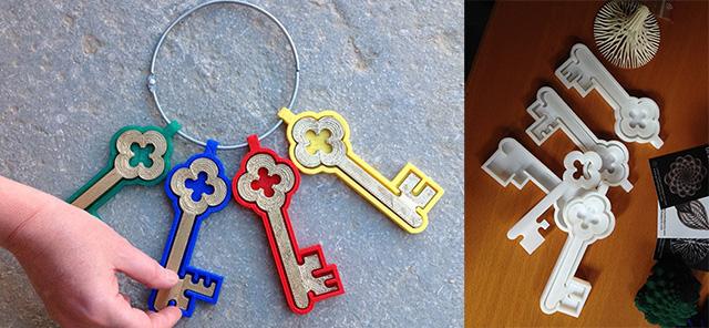 Keys GwowthObjects