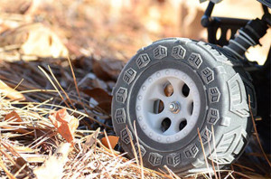 Multi Material RC Truck Tire
