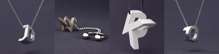 Mymo customizable 3D printed jewellery