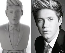 Niall One Direction 3D Printed