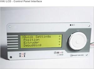 Snap 3D Printer LCD control panel