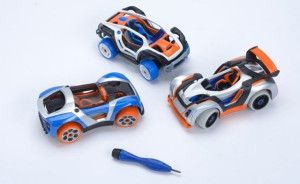 Collection Finger Powered 3D Printed Toy Car