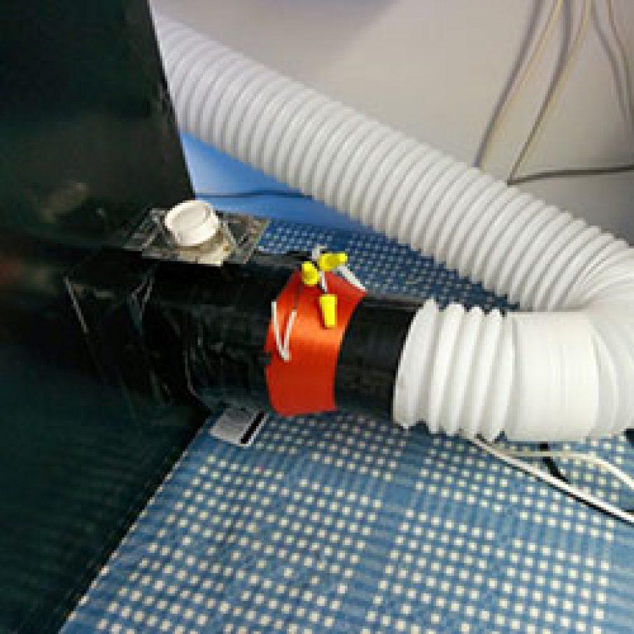 Exhaust 3D Printer