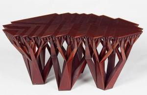 fractal table 3D Printed