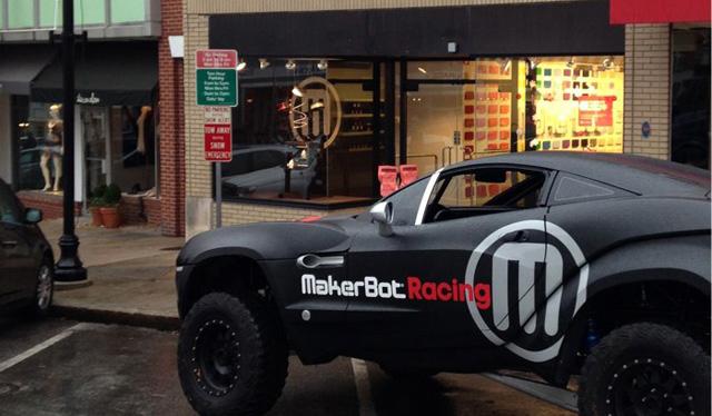 greenwich 11 MakerBot Racing