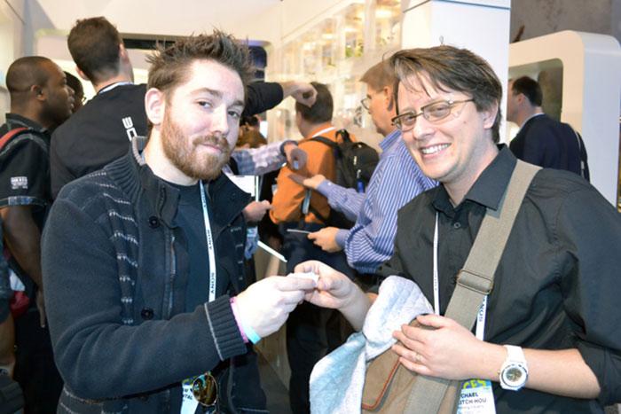 Adam Reichental and Mike 3DPI