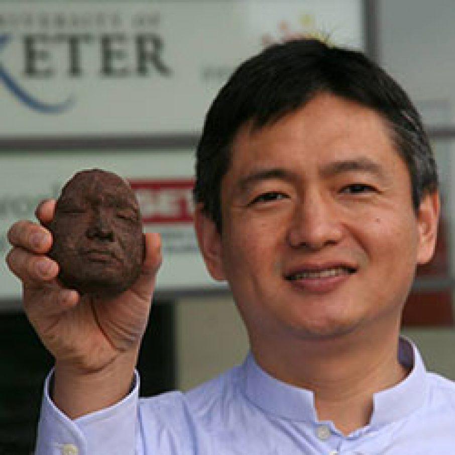 Choc Edge 3D Printed Chocolate 3D portrait