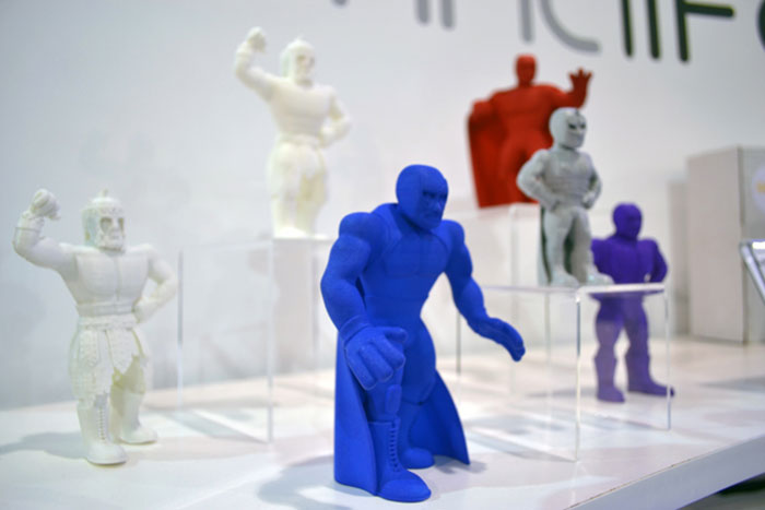 Luchadores Mexican wrestlers 3D Printed 3DPrintLife
