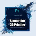 Adobe Adds 3D PDF 3D Printing & More to Photoshop CC