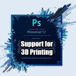 Photoshop Adobe 3D Printing 3DPI.TV
