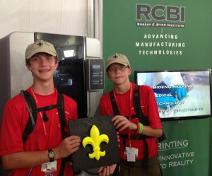 Robert C. Byrd Institute 3D Printing