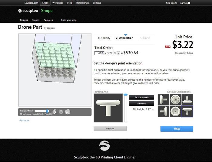 Sculpteo Batch 3D Printing