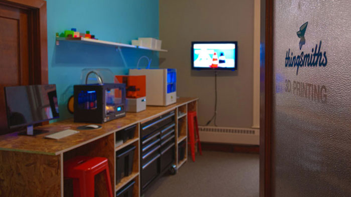 ThingSmiths 3D printers
