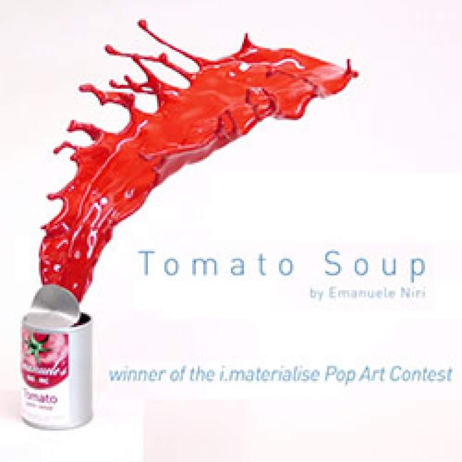 Tomato Soup i.materialise Contest