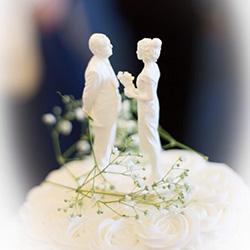 Aviation Wedding Cake Topper