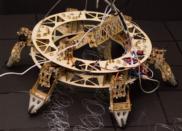 geoweaver 3D printing hexapod