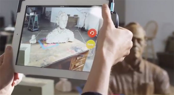 iSense Capture 3D Scanning