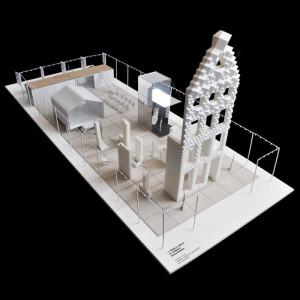 mock-up 3D Print Canal House DAS