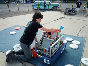 Robot Maketopolis 3D Printing Event