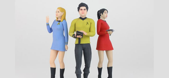 star trek 3dme figures