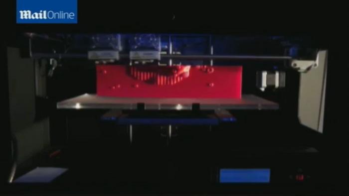 vertical Star Cluster 3D Printed