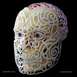 3D Printed Mask Joshua Harker 3D Printing
