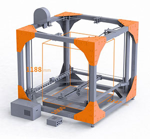 3D Printer Big Rep One